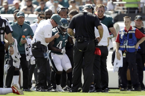 Darren Sproles, former K-State star, tears ACL, breaks wrist on same play Sunday