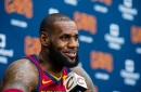 """LeBron James says idea that he wants to finish career in Cleveland """"hasn't changed"""""""