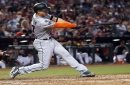 Marlins' Giancarlo Stanton has wrecked Rockies at Coors Field, so they'll handle him with care