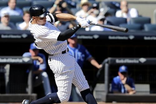 Aaron Judge smashes way to 50-homer history as Yankees surge