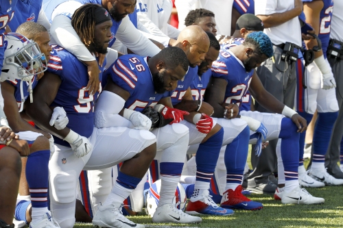 Bills' Jerry Hughes upset with Jim Kelly criticizing team protest