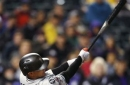 Rojas has 4 RBIs as Marlins beat playoff-hopeful Rockies 5-4 (Sep 25, 2017)