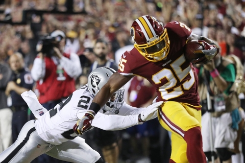 Redskins Coach Jay Gruden's preparation key to Chris Thompson's 22-yard touchdown