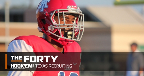 Commit Brennan Eagles talks, and football helps rebuild normalcy in Houston