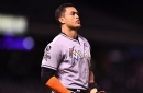 Holding Giancarlo Stanton in check key for Rockies against Miami