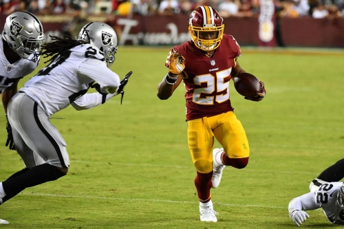 Skins Stats & Snaps: Raiders @ Redskins (Offense)