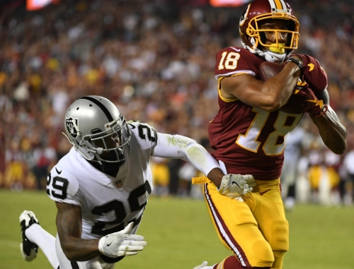 In one play, Redskins' Josh Doctson earned trust and offered a sign of things to come