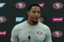 Eric Reid uses press conference to discuss the many topics surrounding National Anthem protests