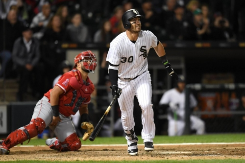 White Sox 6, Angels 4 (10 innings): Nicky Delmonico drives stake through playoff hopes