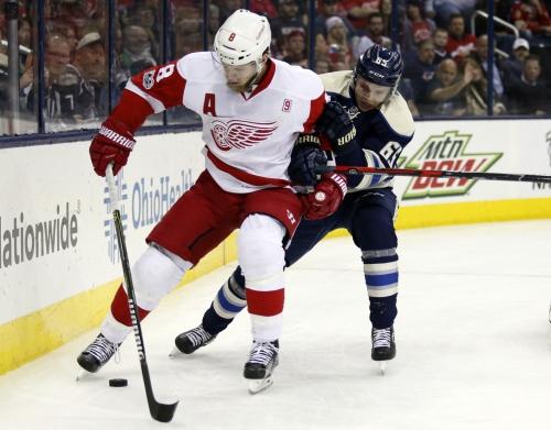 Red Wings' lineup vs. Blackhawks: Niklas Kronwall, Justin Abdelkader debut