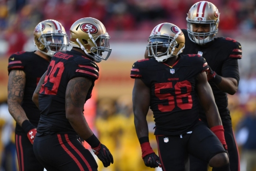 Robert Saleh: We need to do better on first, second down to get Elvis Dumervil in more