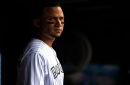 """Carlos Gonzalez may be playing his final days with the Rockies. """"It breaks my heart,"""" Nolan Arenado said."""