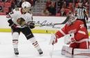 Petr Mrazek sharp in Red Wings' preseason loss to Chicago