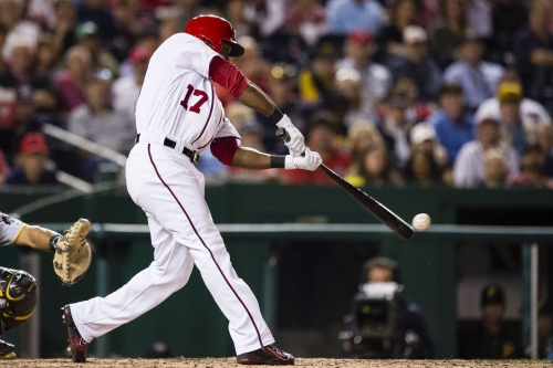 Washington Nationals walk off on Pittsburgh Pirates, 5-4: Alejandro De Aza with walk-off single...