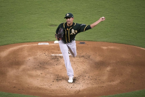 Game #159: A's nab seventh straight win over Rangers, 4-1