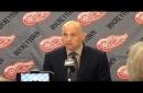 Red Wings' Jeff Blashill assesses Petr Mrazek's performance