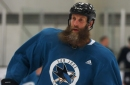 Sharks' Thornton ready to play again; Will he suit up this weekend?