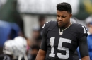 Michael Crabtree misses practice, questionable for Sunday's game