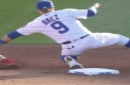 Javier Baez Treats Cubs Fans To Another No-Look Tag