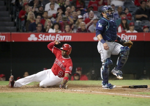 Cam Bedrosian's rough game sinks Angels against Mariners