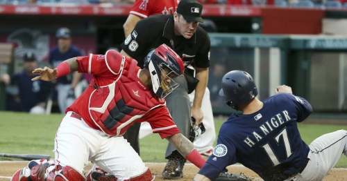 Injury bug hits Mariners' pitching staff one more time, but they beat Angels anyway