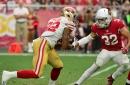 49ers snap count vs. Cardinals: Matt Breida, Victor Bolden see increased workloads due to injury
