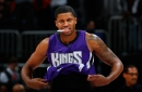 Rudy Gay won't suit up against Kings