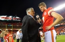 Andy Reid called the Chiefs new kicker ButtKicker.com, Travis Kelce introduced himself to him