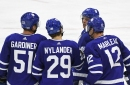 Toronto Maple Leafs 2017 opening day roster with cap hits