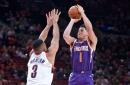 Reserves lead Phoenix Suns to 114-112 comeback win over Portland Trail Blazers