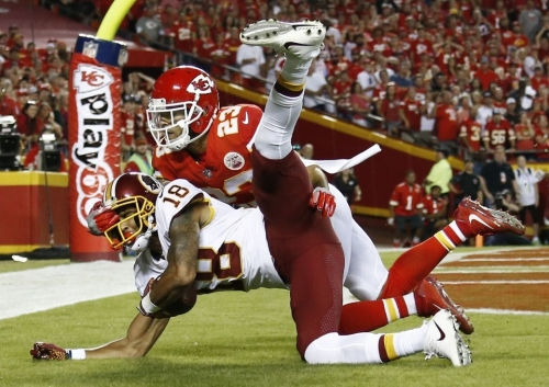 Josh Doctson's near-TD at end of loss to Chiefs came on one of Redskins' staple plays