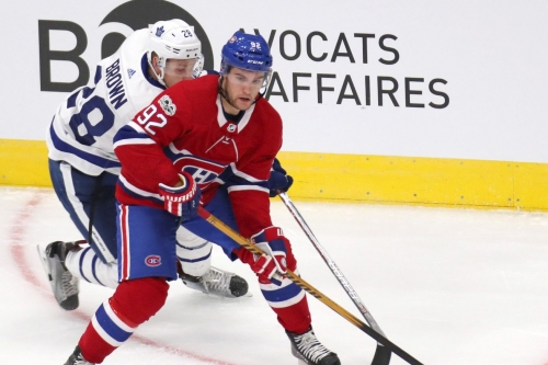 Montreal Canadiens lines at practice: October 4