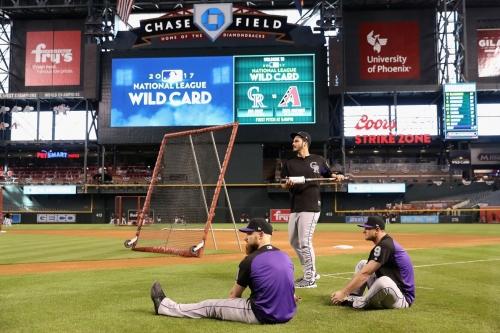 NL Wild Card Open Thread: Colorado Rockies at Arizona Diamondbacks