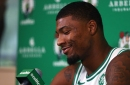 Marcus Smart volunteered to come off the bench