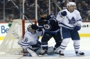 Maple Leafs' penalty killers model students on opening night