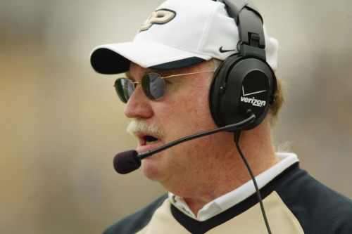 Legendary Purdue coach with Crimson connections Joe Tiller passes away.