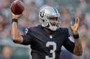Manuel in for Carr as Raiders host Ravens