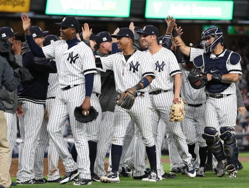 The Yankees deliver October baseball yet again