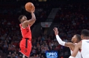 Raptors fall to Blazers in third preseason game, 106-101