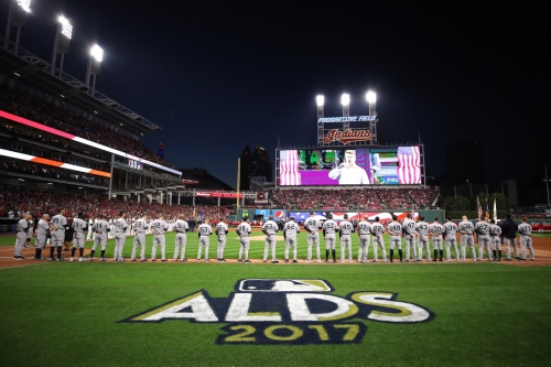Yankees vs. Indians 2017 American League Division Series