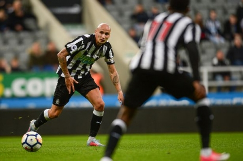 'Jonjo Shelvey is the best I've seen at passing the ball at distance' - Chris Waddle backs NUFC man