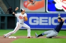 The Orioles had no good backup infielders and their regulars paid the price