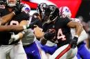Giving away Falcons awards one quarter of the way through the 2017 NFL season