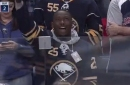 Buffalo Bills players show support for Buffalo Sabres opener