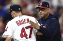 Bauer's dominance adds to Francona's October legend