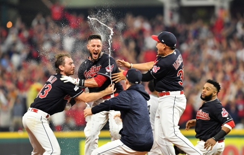 Indians beat Yankees in 13 innings, take 2-0 ALDS lead