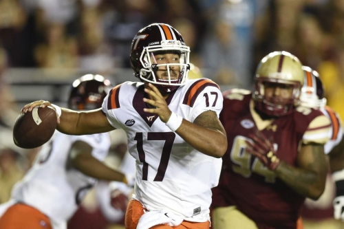 Virginia Tech Hokies hold on to defeat the BC Eagles; 23-10