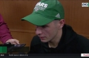 Jason Spezza on generating chances in 4-2 loss to Blues