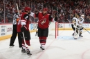 Arizona Coyotes lose in OT to newest rival the Vegas Golden Knights.