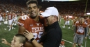 What Tom Herman said after Texas beat Kansas State 40-34 in double overtime